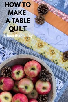 A Beginner's Guide to Quilting Quilting For Beginners, Quilting Tips, Quilting Tutorials, Small Quilts, Easy Quilts, Make A Table, Quilt Labels, Easy Quilt Patterns, Quilted Table Runners