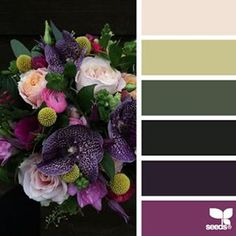 today's inspiration image for { flora palette } is by @fairynuffflower ... thank you, Steph, for another gorgeous #SeedsColor photo share!