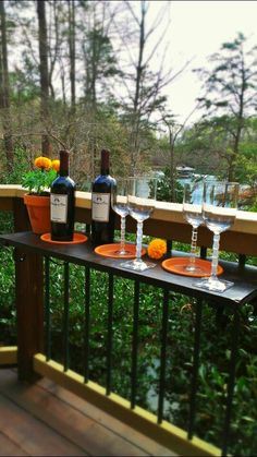 1000 Images About Deck Table On Pinterest Hangers