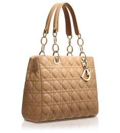 Dior Beige Soft Shopping Tote Bag Christian Dior Purses 7839612a14bd8