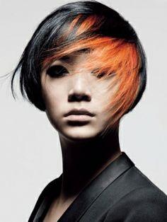 Orange Hair Color Idea