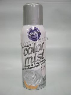 Adventures in Cake Decorating: Wilton Color Mist Food Color Spray ...