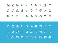 60 Vicons - Free Icon Set by Victor Erixon