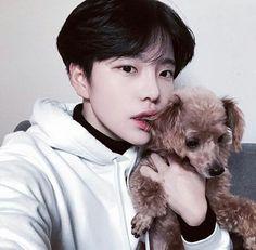 Ulzzang boy dog Korean Fashion