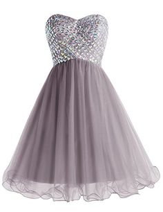Wedtrend Women's Short Prom Dress Tulle Homecoming Dress ...