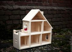 Создаем кукольный домик своими руками - Ярмарка Мастеров - ручная работа, handmade