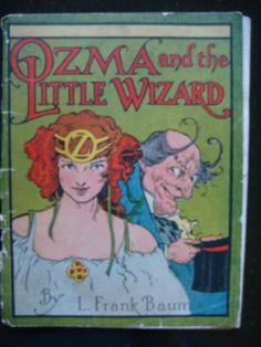 Here is the very desirable Reilly & Lee Jell-O promotional booklet of Ozma and the Little Wizard. Listed under Baum Addenda in Bibliographia Oziana. Oziana dates it at 1932. Has 8 color Neill illustration pages and Jell-O ads and desert recipes. Rear cover shows Scarecrow and Tin-man carrying a giant Jell-O mold. Small softcover book, …