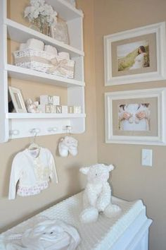 DIY-Personalized Wooden Baby Blocks Fawn Over Baby: DIY-Personalized Wooden Baby Blocks Baby Bedroom, Nursery Room, Girl Nursery, Girl Room, Nursery Decor, White Nursery, Nursery Modern, Modern Nurseries, Boho Nursery