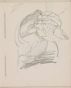 Krab bij een schelp, Reijer Stolk, c. 1916