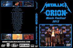 Metallica – Live At Orion Festival Atlantic City 2012   Rare Rock Dvds