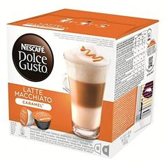 Nescafe Dolce Gusto Caramel Latte Macchiato X 3 Packs (48 Pods, 24 Servings) -- Continue to the product at the image link.