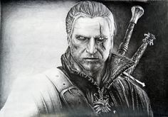Geralt of Rivia by ~Lukarley on deviantART