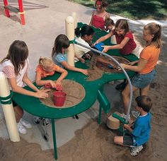 Elevated Sand Table - Large Raised, Fully Accessible, Inclusive Sandbox Table - Landscape Structures