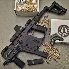 Kriss Vector Gen II Great home defense gun. Weapons Guns, Airsoft Guns, Guns And Ammo, Assault Weapon, Assault Rifle, Kriss Vector, Battle Rifle, Submachine Gun, Firearms