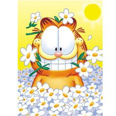 NEW 5D Round diamond painting & diy diamond painting cross stitch Home Decor diamond embroidery mosaic Garfield for Animal gift #Affiliate