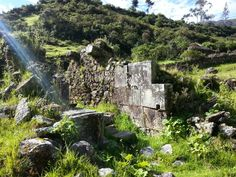 Vitcos Peru: Last Refuge Of The Inca Built Around More Ancient Megaliths - the Inca used older cut stones in their constructions