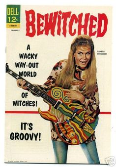 Bewitched comic book with mod Samantha by poptartsbox, via Flickr