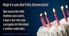 Mensagens de Feliz Aniversário - Mensagens de feliz Aniversário e Parabéns