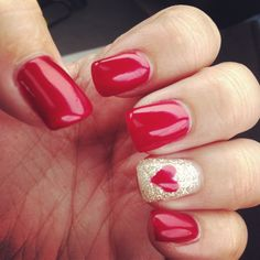 Valentines Day nails <3