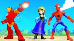 Nhạc Thiếu Nhi Tiếng Anh Vui Nhộn | Công chúa Anna, Người nhện Spiderman...