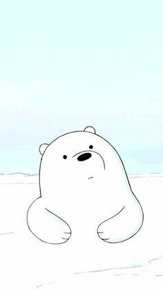 Wallpaper Kawaii, Disney Phone Wallpaper, Bear Wallpaper, We Bare Bears Wallpapers, Panda Wallpapers, Cute Cartoon Wallpapers, Ice Bear We Bare Bears, We Bear, Original Iphone Wallpaper