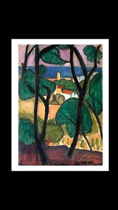 Henri Matisse - Vue de Collioure, 1907 - Huile sur toile - 92,1 x 65,7 cm - The Metropolitan Museum of Art, New York