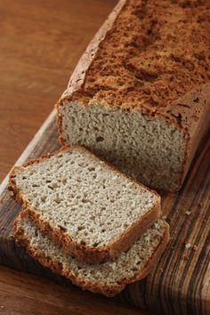 Gluten Free This is a mainstream term nowadays. A gluten free eating routine is utilized to treat celiac ailment (an immune system i Gluten Free Buckwheat Bread, Gluten Free Crepes, Buckwheat Recipes, Gluten Free Dinner, Gluten Free Baking, Sin Gluten, Bread Alternatives, Food Crush, Bread And Pastries