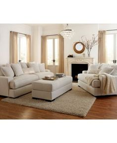 Ainsley Fabric Sofa Living Room Collection, Only at Macy's