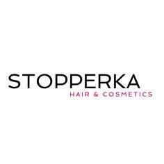 Unser neues Logo. How do you like our new logo? 15.000 Fachartikel Stopperka hair & cosmetics Friseurbedarf Kosmetikbedarf beauty supply