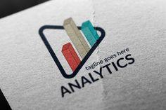 Analytics Logo by tkent on @creativemarket
