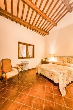 Lovely bedroom in this amazing home for sale in #Umbria