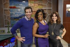 Niecy Nash with JD and Rebecca!