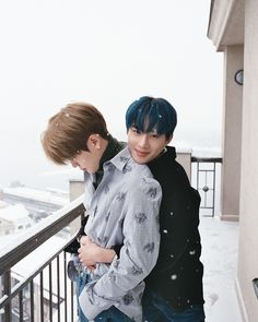 Jaehyun and JongWoo