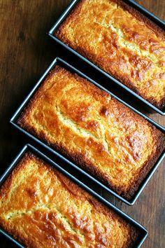panes limón ricotta, justo al horno