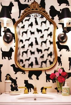 This Osborne & Little wallpaper will be in my next home... most likely the nursery!