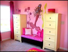 mermaid Themed Girls Room | Mermaid Girls Room - eclectic - kids - atlanta - by Modern Nest ...