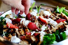 Grilled Chicken & Strawberry Wrap by Ree Drummond / The Pioneer Woman, via Flickr