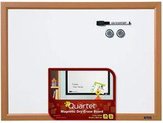 Quartet Magnetic Whiteboard, 17 x 23 Inches White Board, Dry Erase Board, White Frame Magnetic White Board, X 23, Dry Erase Board, Magnets, Boards, Whiteboard, Frame, Amazon, Colors