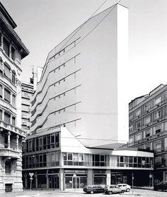 Luigi Moretti - Corso Italia Complex, Milan 1956.