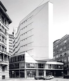 Luigi Moretti: Corso Italia Complex, Milano, 1956
