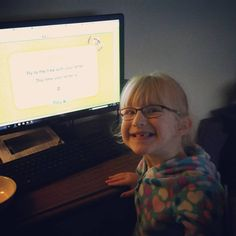 """""""Sarah enjoying time on #ReadingEggs. This girl never enjoyed learning games until we started this program! Love it!"""" Thanks for sharing @stacyk0804. We're so happy to hear that Sarah is enjoying the Reading Eggs adventure!"""