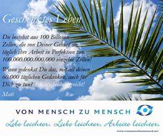 Der Blog - Von Mensch zu Mensch by Mati Ahmet Tuncöz: ♦ 100.000.000.000.000 Zellen -> Geschenktes Leben....