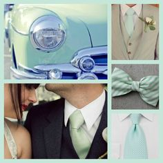 Colour Crush - Mint Wedding Colours.