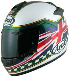 The Hubby's New Skid Lid :)