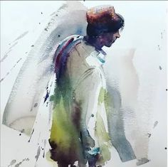 Eudes Correia: 2 тыс изображений найдено в Яндекс.Картинках Portrait Sketches, Watercolor Illustration, Projects To Try, Watercolour Illustration