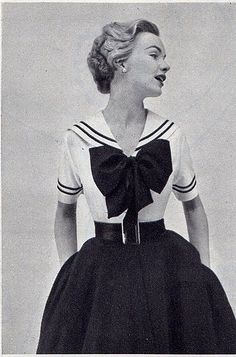 sailor dress 1940