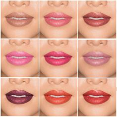 em by Michelle Phan lip gallery creamy color classic lipsticks