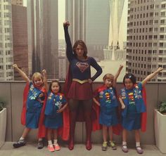 And the award for most empowering photo of the week goes to..... https://instagram.com/p/6oHsSKJVza/?taken-by=melissabenoist… #Supergirl #GirlScouts
