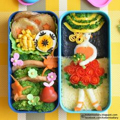 Karenwee's Bento Diary: Bento2014#Jul11~Lady Bento for Bento&Co 2014 Chef Contest