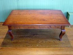 maple french country coffee table